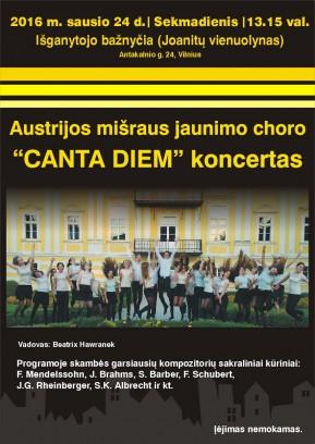 Der Kammerchor des BG/BRG Perchtoldsdorf Canta Diem