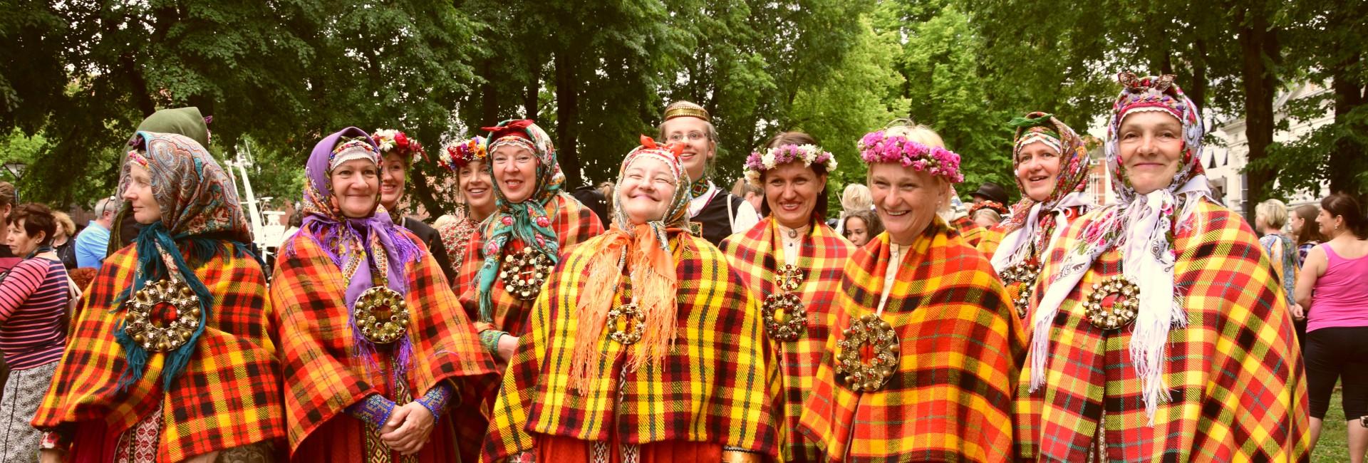 Baltisches Dorf
