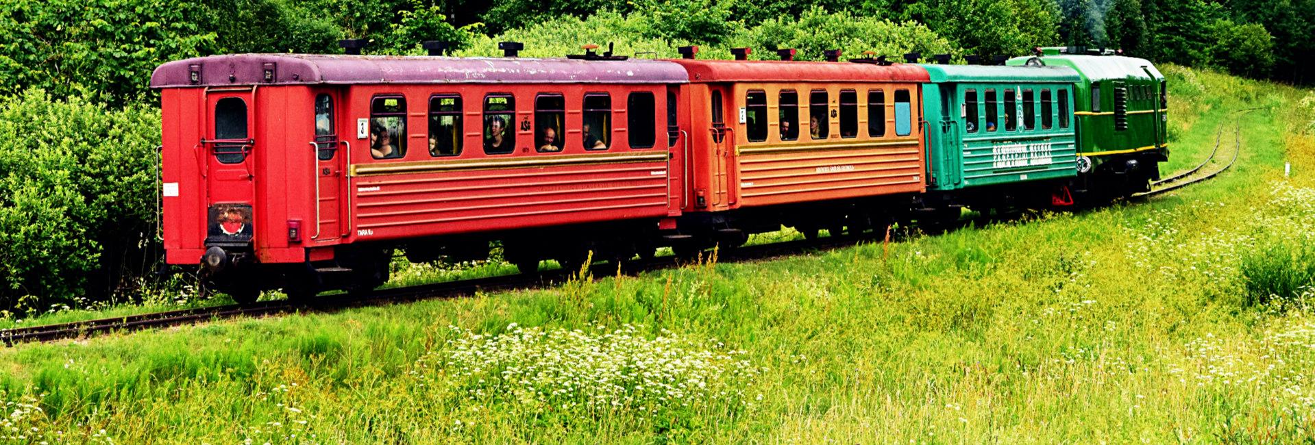 Oldtimer-Züge